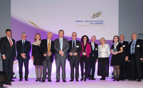 Sanofi and the pasteur institute reward excellence in life
